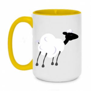 Kubek dwukolorowy 450ml Sheep