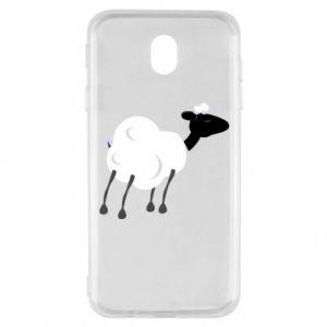 Etui na Samsung J7 2017 Sheep