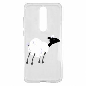 Etui na Nokia 5.1 Plus Sheep