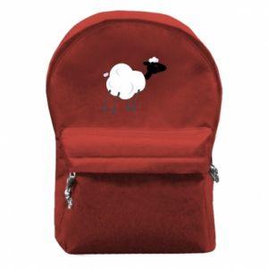 Plecak z przednią kieszenią Sheep