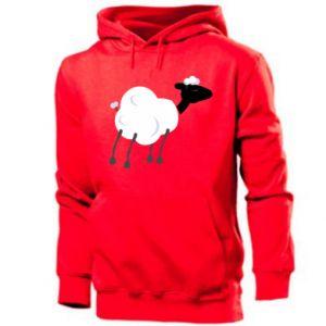 Męska bluza z kapturem Sheep
