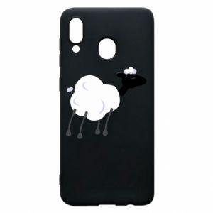 Etui na Samsung A20 Sheep
