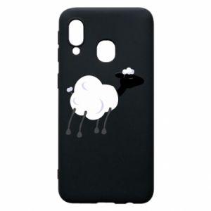 Etui na Samsung A40 Sheep