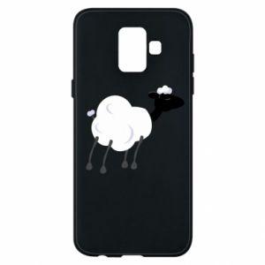 Etui na Samsung A6 2018 Sheep