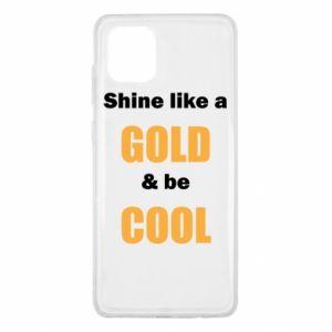 Etui na Samsung Note 10 Lite Shine like a gold & be cool