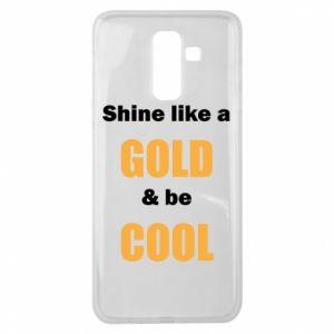 Etui na Samsung J8 2018 Shine like a gold & be cool