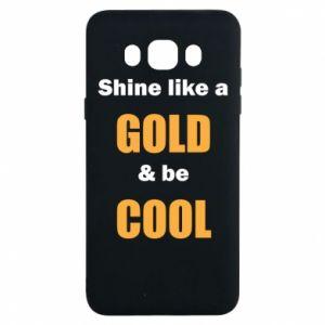 Etui na Samsung J7 2016 Shine like a gold & be cool
