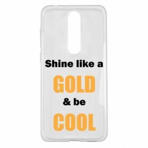 Etui na Nokia 5.1 Plus Shine like a gold & be cool