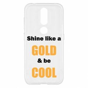 Etui na Nokia 4.2 Shine like a gold & be cool