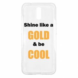 Etui na Nokia 2.3 Shine like a gold & be cool