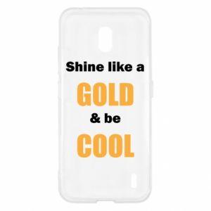 Etui na Nokia 2.2 Shine like a gold & be cool
