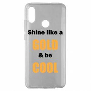 Etui na Huawei Honor 10 Lite Shine like a gold & be cool