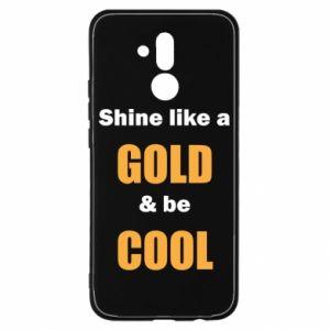 Etui na Huawei Mate 20 Lite Shine like a gold & be cool