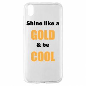 Etui na Huawei Y5 2019 Shine like a gold & be cool