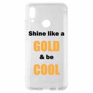 Etui na Huawei P Smart 2019 Shine like a gold & be cool