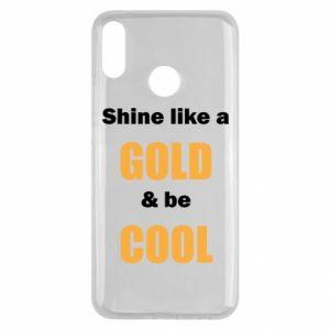 Etui na Huawei Y9 2019 Shine like a gold & be cool