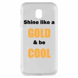 Etui na Samsung J3 2017 Shine like a gold & be cool
