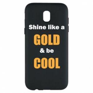 Etui na Samsung J5 2017 Shine like a gold & be cool