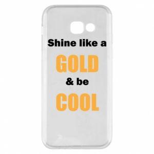 Etui na Samsung A5 2017 Shine like a gold & be cool