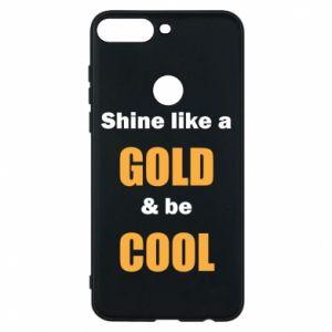 Etui na Huawei Y7 Prime 2018 Shine like a gold & be cool