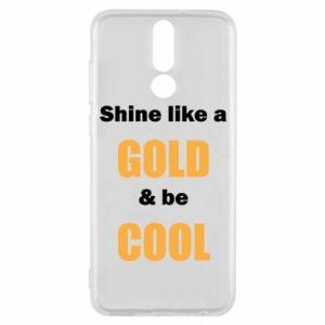 Etui na Huawei Mate 10 Lite Shine like a gold & be cool