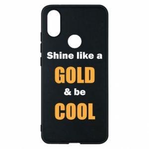 Etui na Xiaomi Mi A2 Shine like a gold & be cool