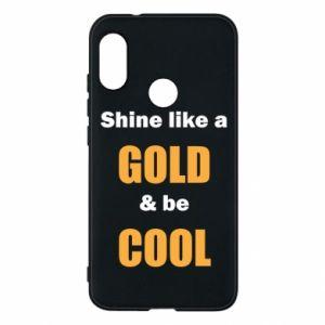 Etui na Mi A2 Lite Shine like a gold & be cool