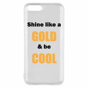 Etui na Xiaomi Mi6 Shine like a gold & be cool