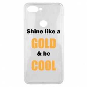 Etui na Xiaomi Mi8 Lite Shine like a gold & be cool