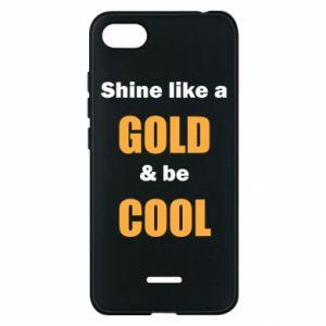 Etui na Xiaomi Redmi 6A Shine like a gold & be cool
