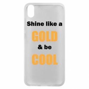 Etui na Xiaomi Redmi 7A Shine like a gold & be cool
