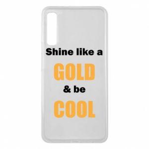 Etui na Samsung A7 2018 Shine like a gold & be cool