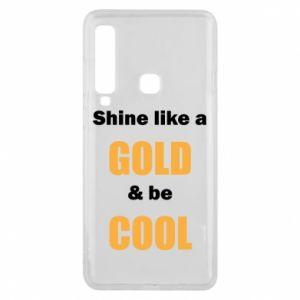 Etui na Samsung A9 2018 Shine like a gold & be cool