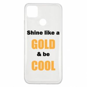 Etui na Xiaomi Redmi 9c Shine like a gold & be cool