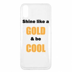 Etui na Xiaomi Redmi 9a Shine like a gold & be cool