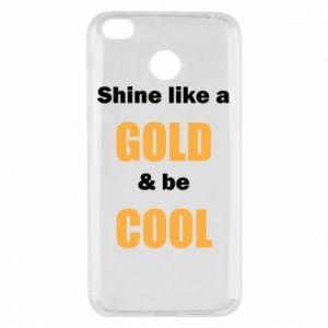 Etui na Xiaomi Redmi 4X Shine like a gold & be cool