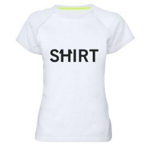 Koszulka sportowa damska Shirt