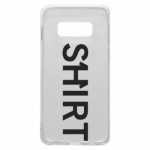 Samsung S10e Case Shirt