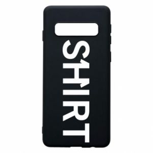 Samsung S10 Case Shirt