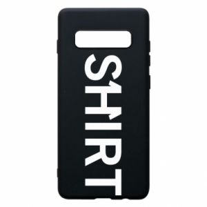 Samsung S10+ Case Shirt