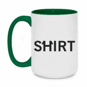 Two-toned mug 450ml Shirt