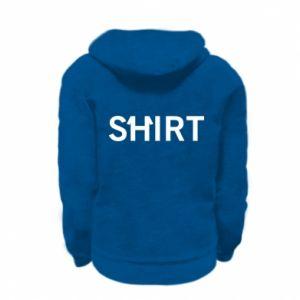 Kid's zipped hoodie % print% Shirt
