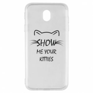 Samsung J7 2017 Case Show me your kitties