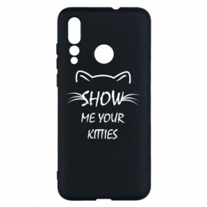 Etui na Huawei Nova 4 Show me your kitties
