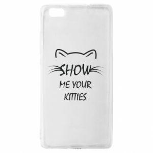 Etui na Huawei P 8 Lite Show me your kitties