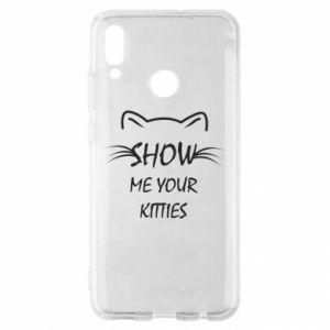 Etui na Huawei P Smart 2019 Show me your kitties