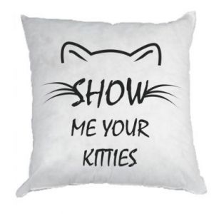 Pillow Show me your kitties