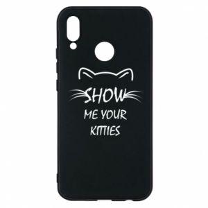 Etui na Huawei P20 Lite Show me your kitties - PrintSalon