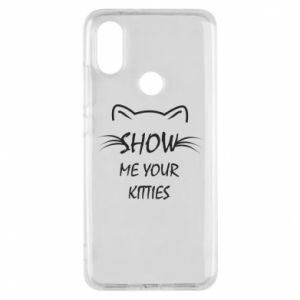 Etui na Xiaomi Mi A2 Show me your kitties - PrintSalon