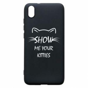 Etui na Xiaomi Redmi 7A Show me your kitties - PrintSalon